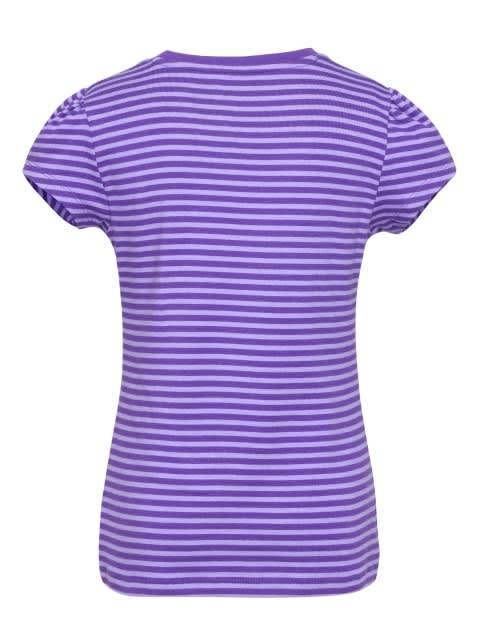 Royal Purple & Paisley Purple Girls T-Shirt