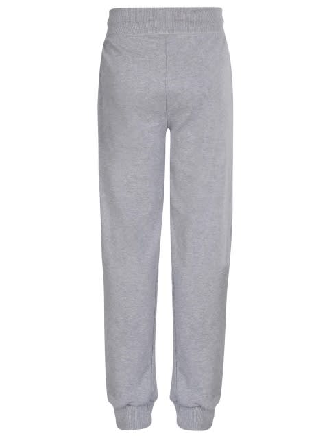 Light Grey Melange Girls Track Pant