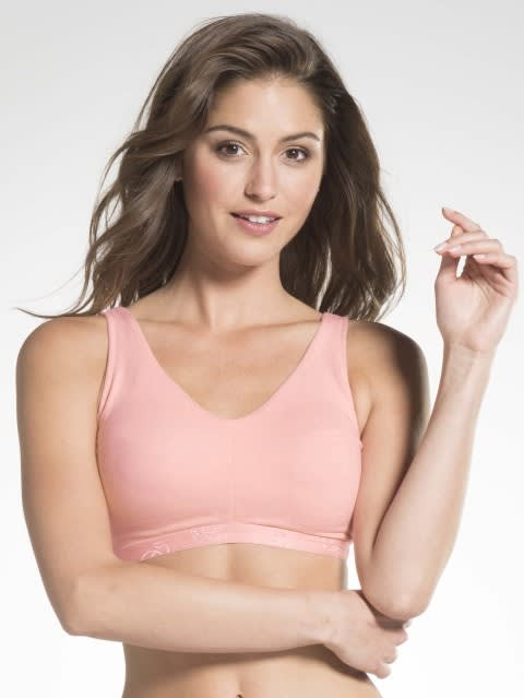 Candy Pink Sleep Bra