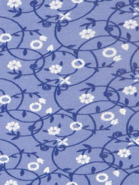 Iris Blue Print Boy Leg