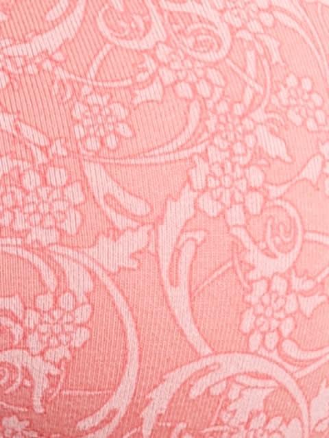 Peach Blossom Print221 Non-wired Padded Bra