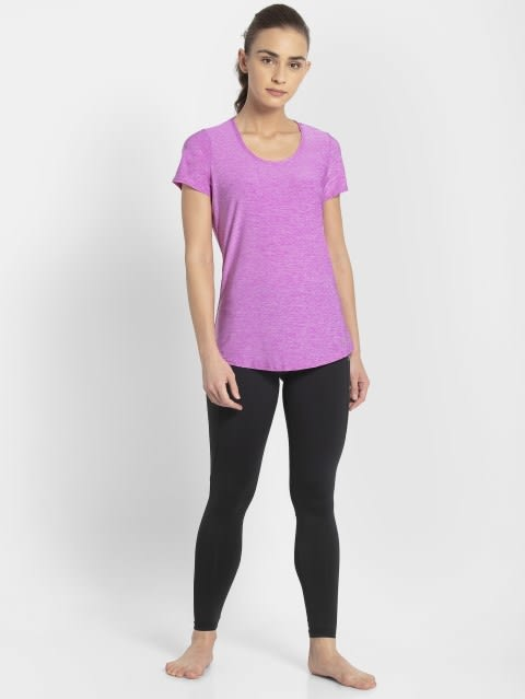 Purple Melange T-Shirt