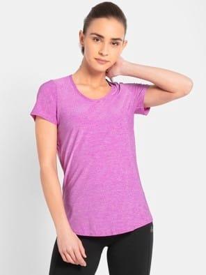 Purple Melange T-Shirt