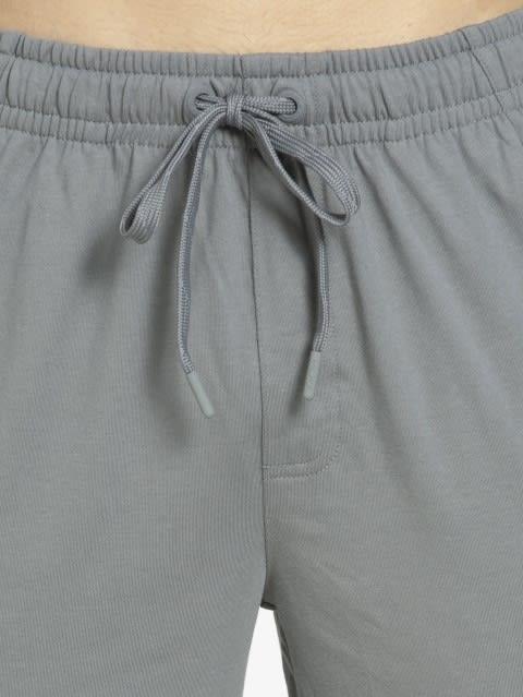 Performance Grey Slim Fit Track Pant