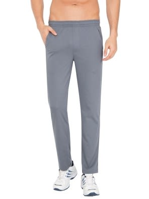 Performance Grey Slim Fit Track Pant