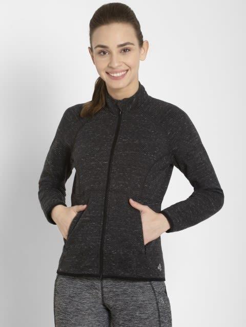 Black Snow Melange Jacket