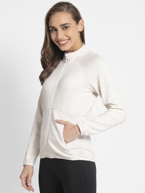 Cream Melange Jacket