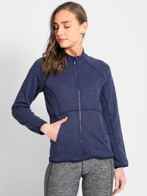 Imperial Blue Snow Melange Jacket