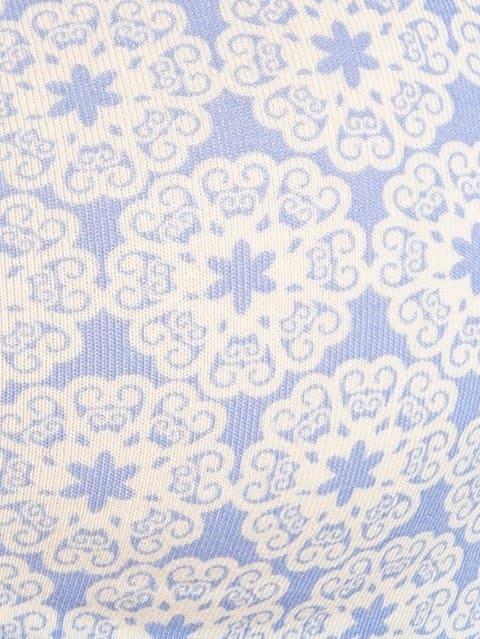Iris Blue Print66 Soft Cup Bra