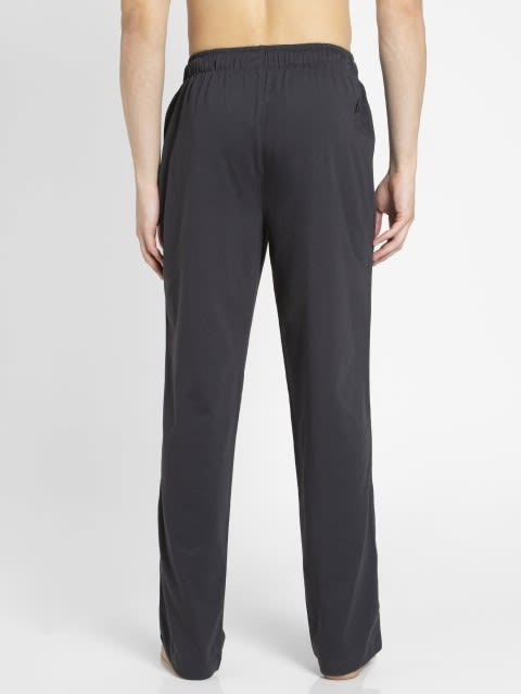 Graphite & Black Track Pant