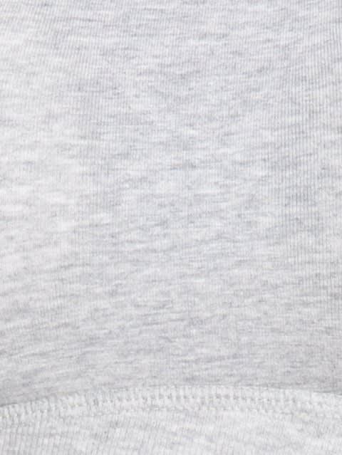 Light Grey Melange Uniform Bra