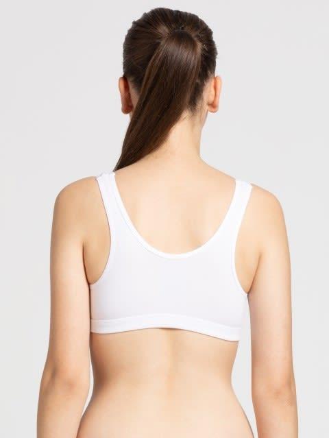 White Uniform Bra