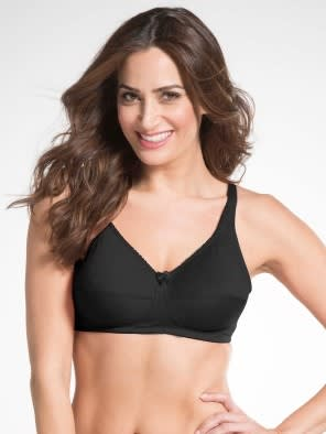 Black Firm Support Bra