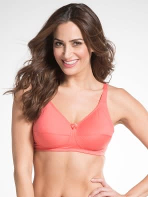 Blush Pink Firm Support Bra