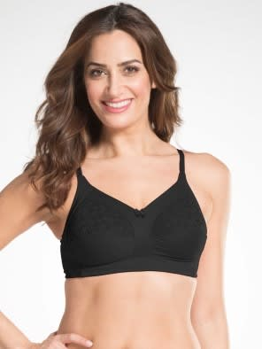 Black Framed Cup Bra