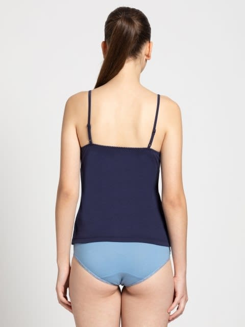 Classic Navy Shelf Camisole