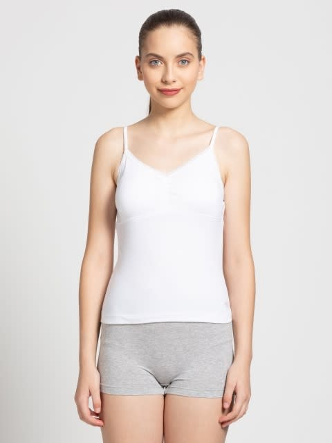 White Shelf Camisole