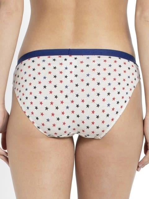 Cream Melange Bikini