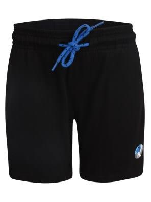 Black & Neon Blue Boys Shorts
