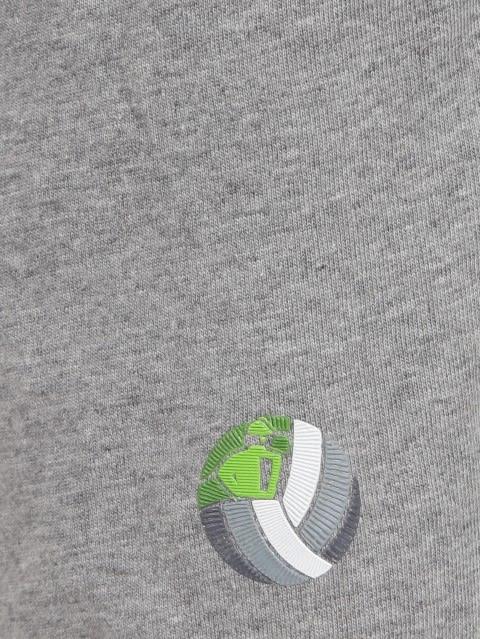 Grey Melange & Greenary Boys Shorts