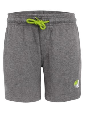 Grey Melange & Greenary Boys Shorts