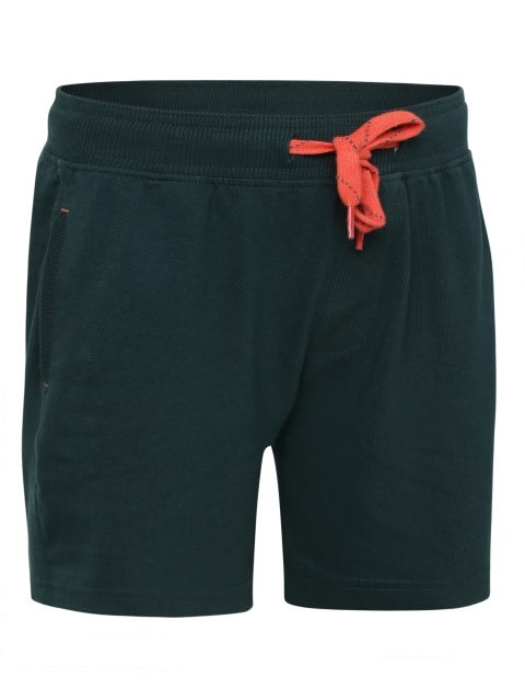 Pine Green Boys Shorts