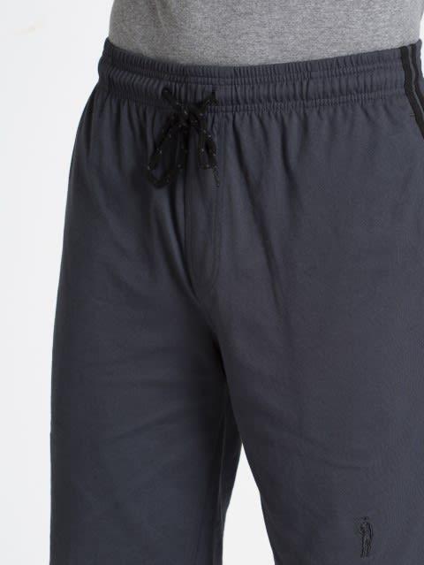 Graphite & Black Knit Sport Shorts
