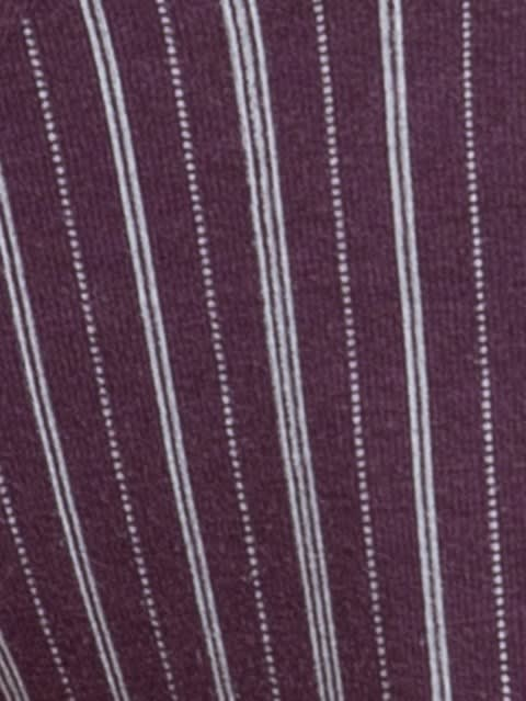 Purple Stripe09 Men Printed Brief
