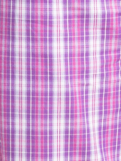 Lavender Scent Assorted Checks Long Pant