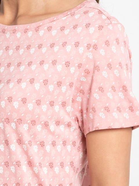 Blush Assorted Prints Sleep Dress