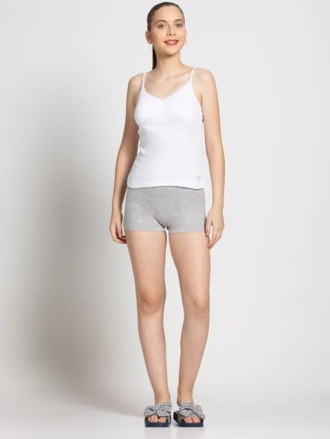 Light Grey Melange Shorties