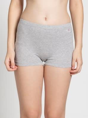 Light Grey Melange Shorties