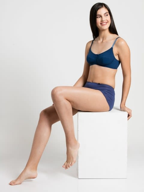 Estate Blue Slim Fit Bra