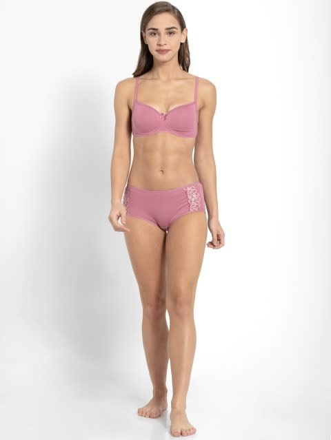 Heather rose Non-wired Padded Bra