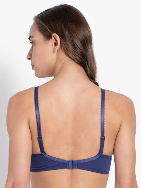Deep Cobalt Full coverage non wired T shirt Bra