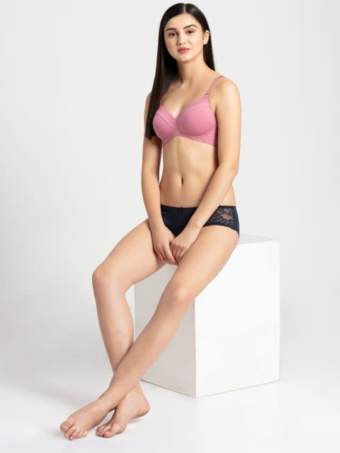 Heather Rose Full coverage non wired T shirt Bra