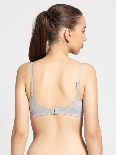 Light Grey Melange Beginners Bra