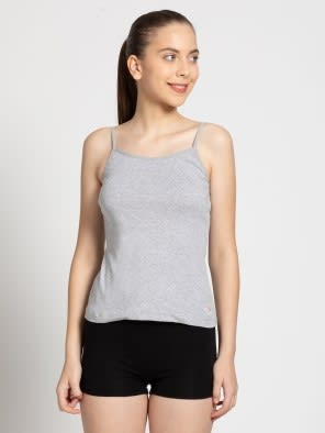 Light Grey Melange Camisole