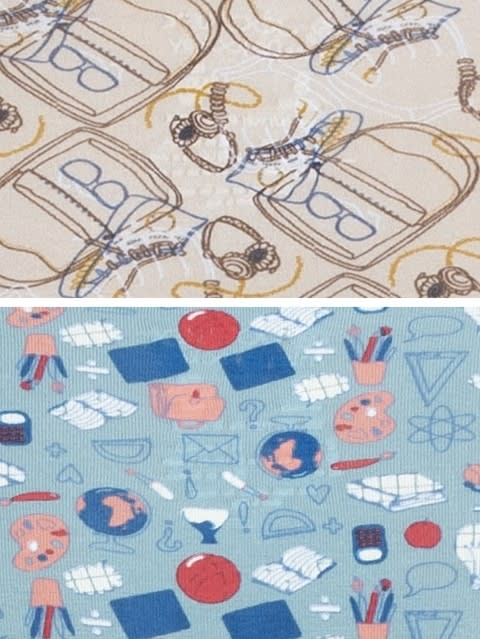 Assorted Prints Hipster Pack of 2