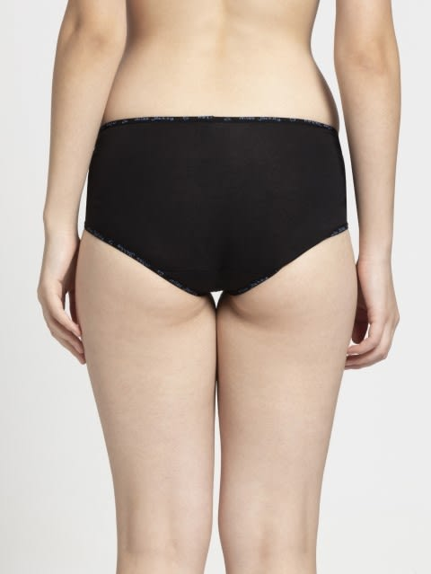 Allure & Black Midwaist Panty Pack of 2