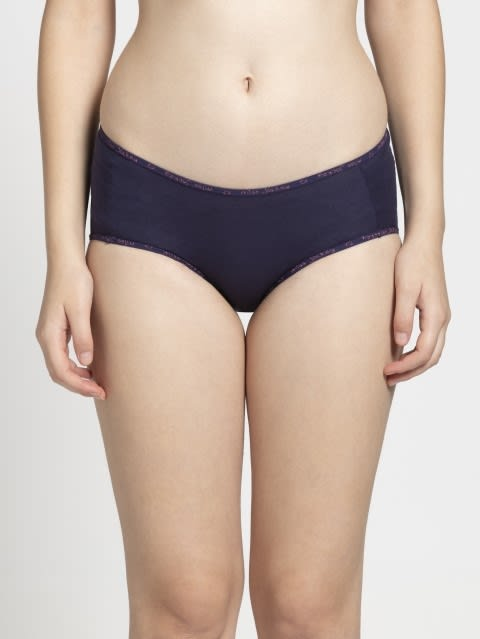 Rapture Rose & Classic Navy Midwaist Panty Pack of 2