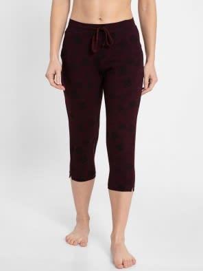 Wintasting Printed Capri Pants