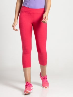 Ruby Marl Knit Sports Capri