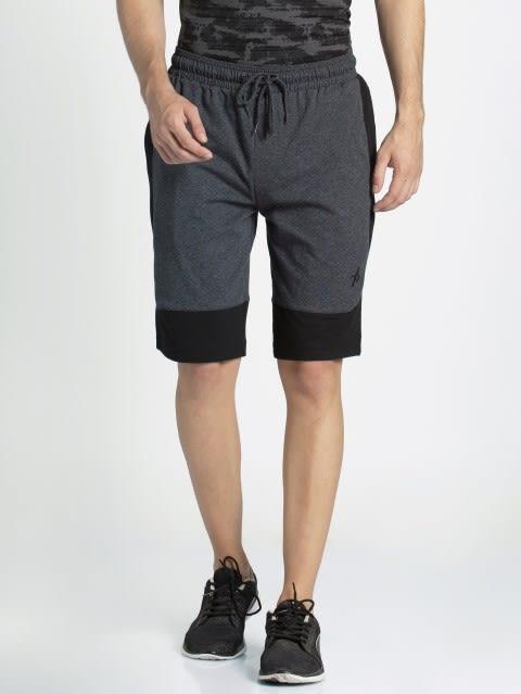 True Black Melange Shorts
