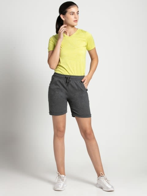 Charcoal Melange Shorts