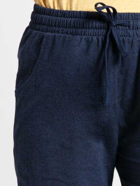 Ink Blue Melange Shorts