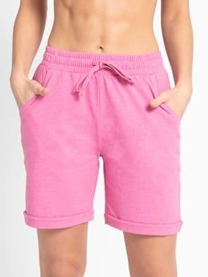 Ibis Rose Melange Shorts