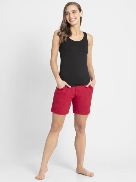 Jaster Red Shorts