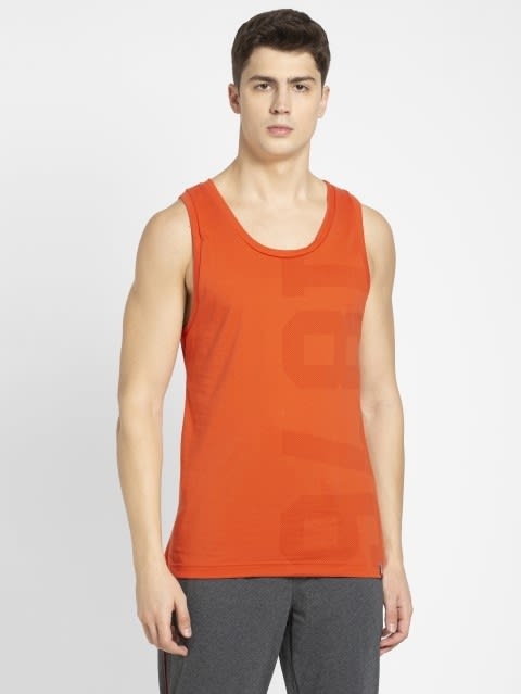 Orange Rust Tank Top