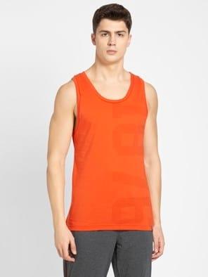 Orange Rust Tank Top